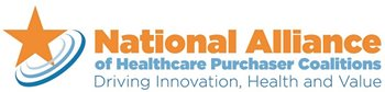 National Alliance Healthcare Purchaser Coalitions Logo. Tagline: Driving Innovation, Health and Value